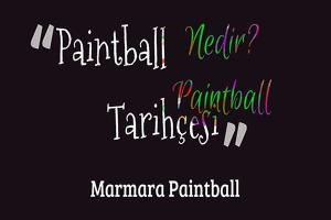 Paintball nedir