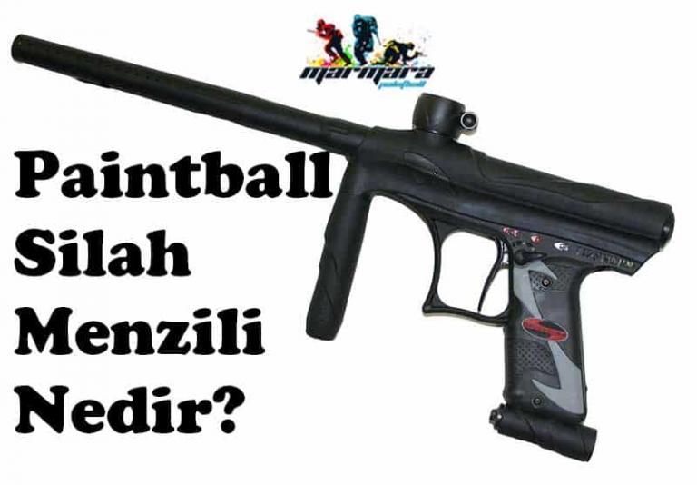 paintball silah menzili nedir?