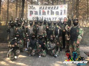 Halkalı Paintball