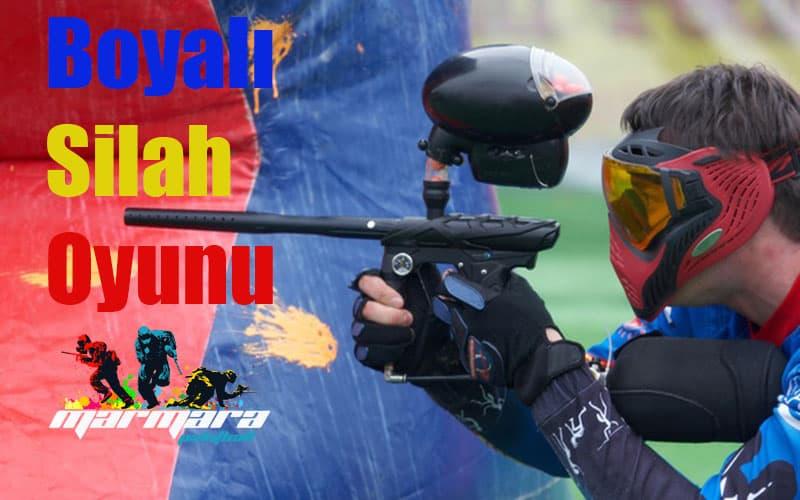 Boyali Silah Oyunu Boya Savasi Marmara Paintball